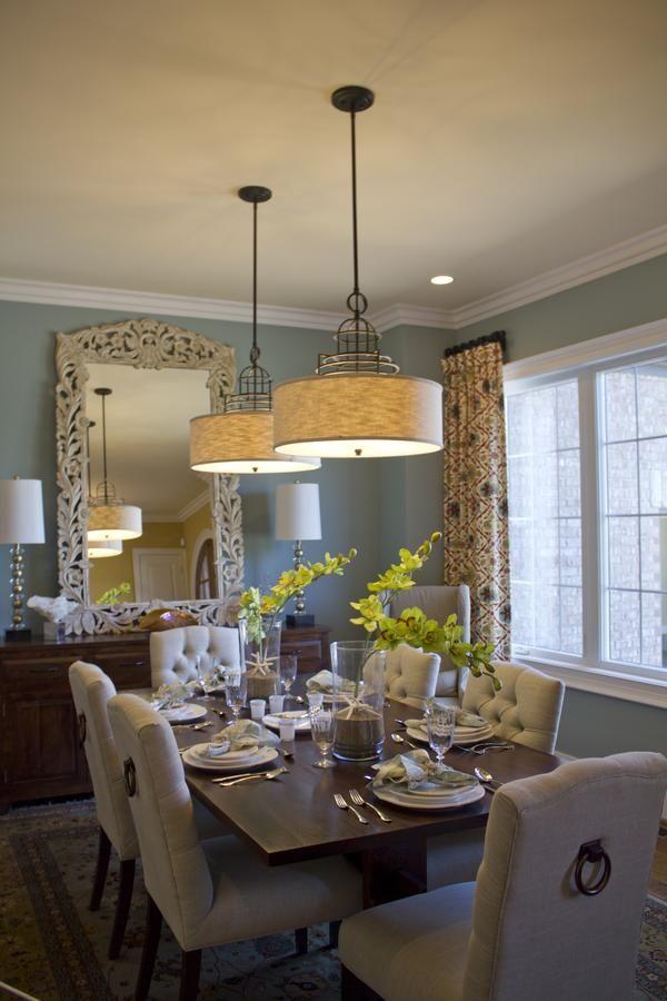 Muebles para comedor   Tendencias 2019 - 2020 para decorarlos on Farmhouse:-Cra1Rtrksu= Dining Room Curtains  id=50688