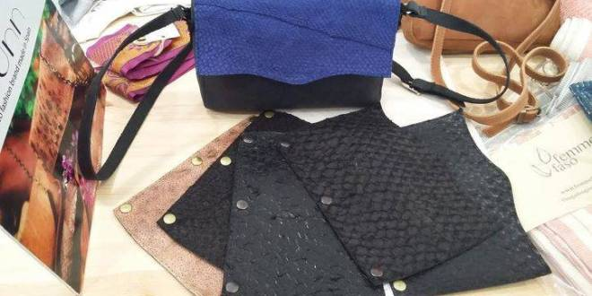 95c39e7853f Bolsos de piel de pez  última tendencia en la moda sostenible