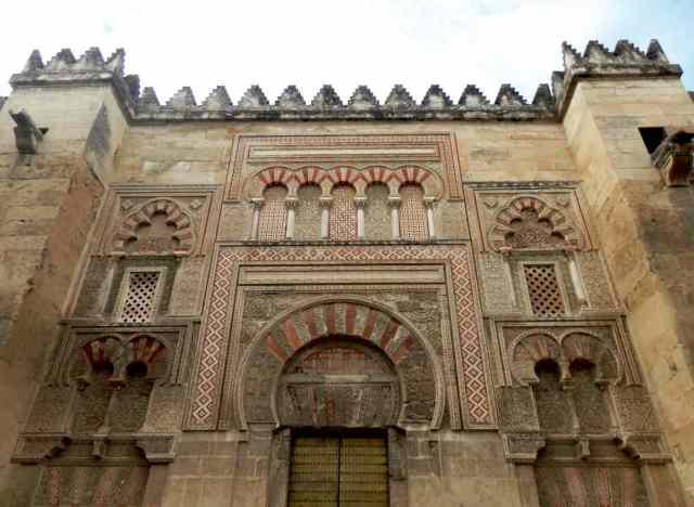 puerta lateral fachada mezquita catedral cordoba