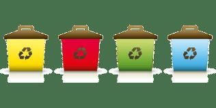 clasificación de la basura