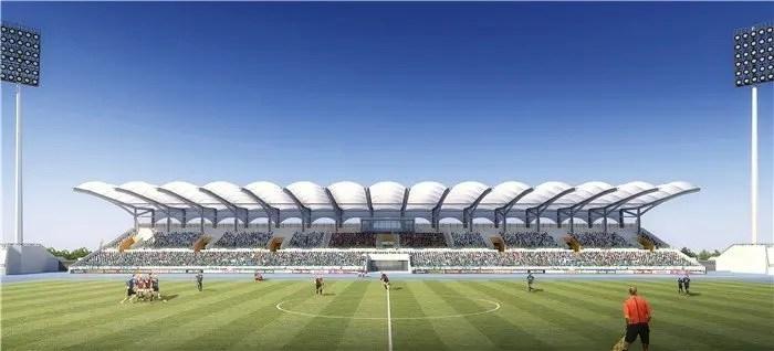 Malouzini, Découvrez le Stade de Malouzini (10 726 places) en images