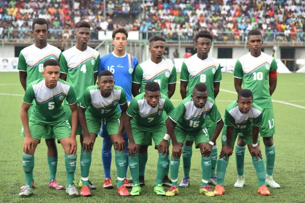 CAN U17, Forfait des Comores aux éliminatoires de la CAN U17 2019
