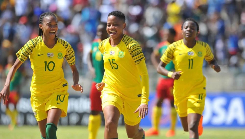 Afrique du Sud, L'Afrique du Sud remporte la Cosafa Women's Cup 2018