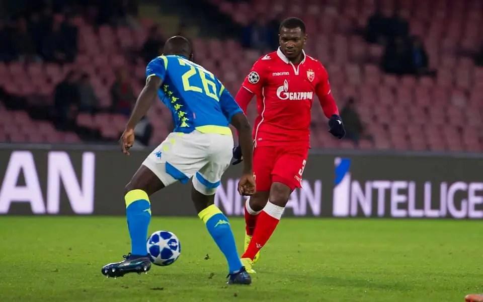 El Fardou Ben, Champions League : El Fardou Ben Mohamed buteur face à Naples