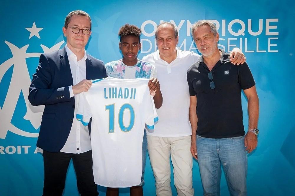 Isaac Lihadji, Isaac Lihadji, la nouvelle pépite de l'Olympique de Marseille