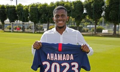 Anfane Ahamada Mze, PSG : premier contrat professionnel pour Anfane Ahamada Mze