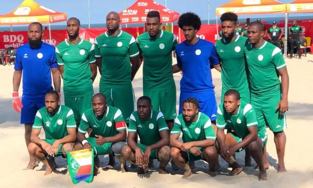 Comores, CAN Beach Soccer : les Comores corrigées par le Mozambique
