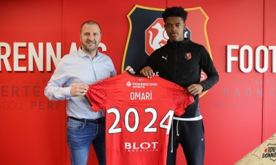 Warmed Omari, Stade Rennais : Warmed Omari prolonge jusqu'en 2024