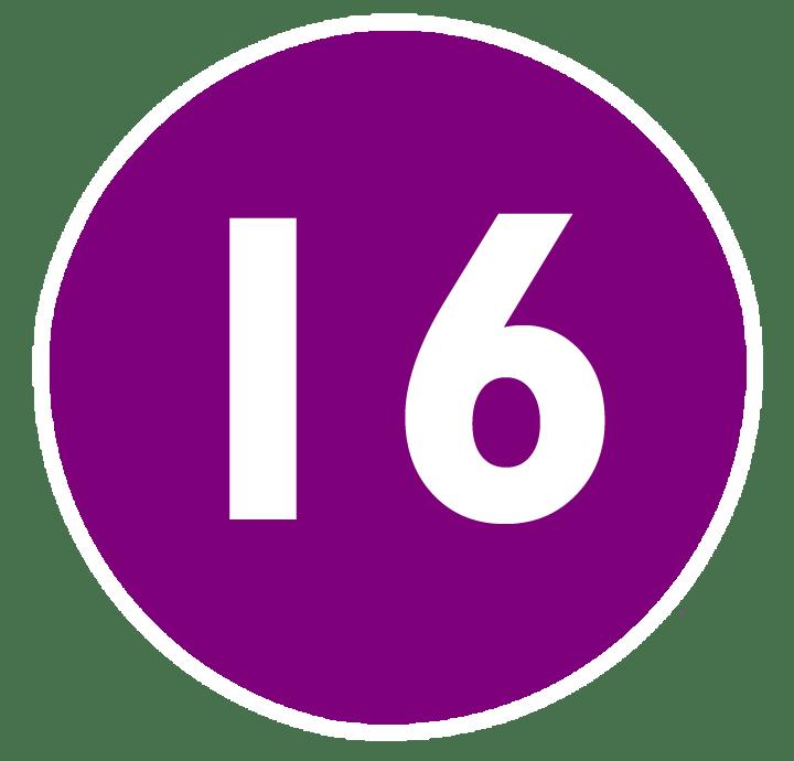 Como se escribe el numero 16 en letras