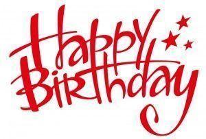 feliz cumpleaños en ingles