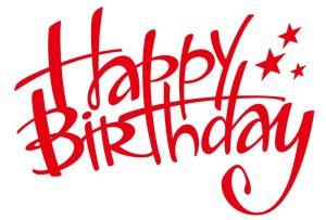 como se escribe feliz cumpleaños en ingles