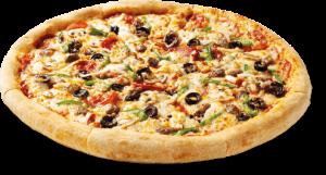 como se hace una pizza