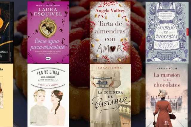 8 libros para poner un buen y dulce sabor de boca