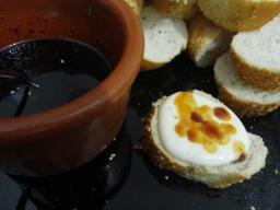 Geléia de Pimenta acompanhando a fondue