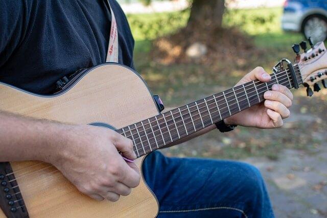 Formação de acordes no violão