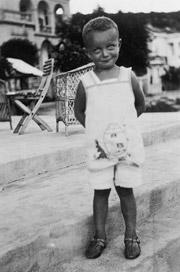 Alfred Brendel, niño