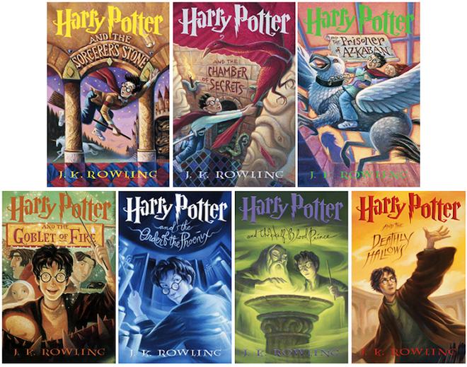 Orden de lectura Harry potter