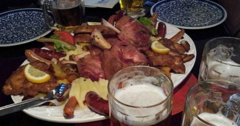 Comida Alema, Frankfurt, Alemanha - Foto Nathalia Molina www.comoviaja.com.br