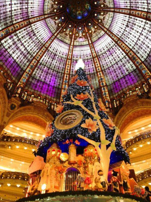 Paris, França, Galeries Lafayette, Natal, Árvore e Cúpula, Lojas no Boulevard Haussmann - Foto Nathalia Molina @ComoViaja (2)