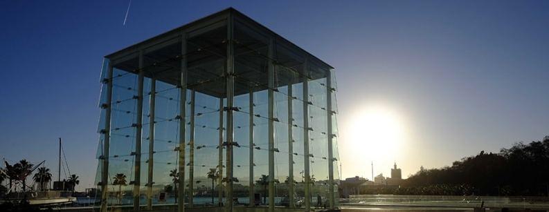 Centre Pompidou Málaga, Arte na Espanha - Foto Retirada do Site
