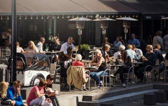 Dinamarca Gastronomia Cafes Aarhus - Foto Photopop VisitDenmark Divulgacao