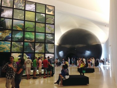 Museu do Amanhã, Cosmos e Terra, Como é a Visita, Rio de Janeiro, Praça Mauá - Foto Nathalia Molina @ComoViaja (1024x768)