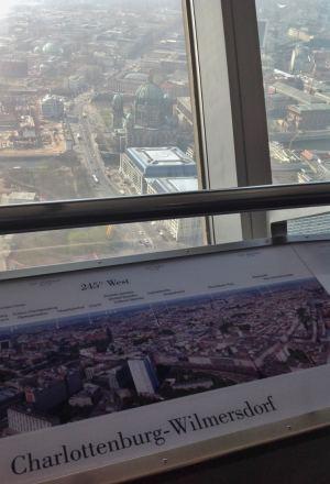 Torre de TV Berlim Informacoes Vista Viagem Alemanha - Foto Nathalia Molina @ComoViaja