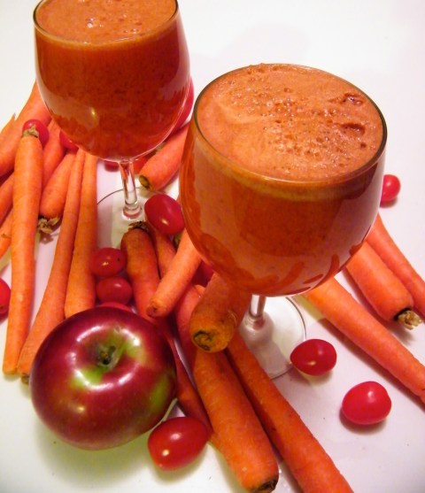 Tomato + Carrot + Apple Juice