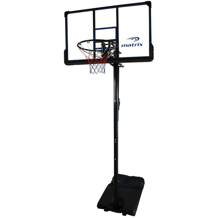 10: Matrix Portable Basketball System, 48""