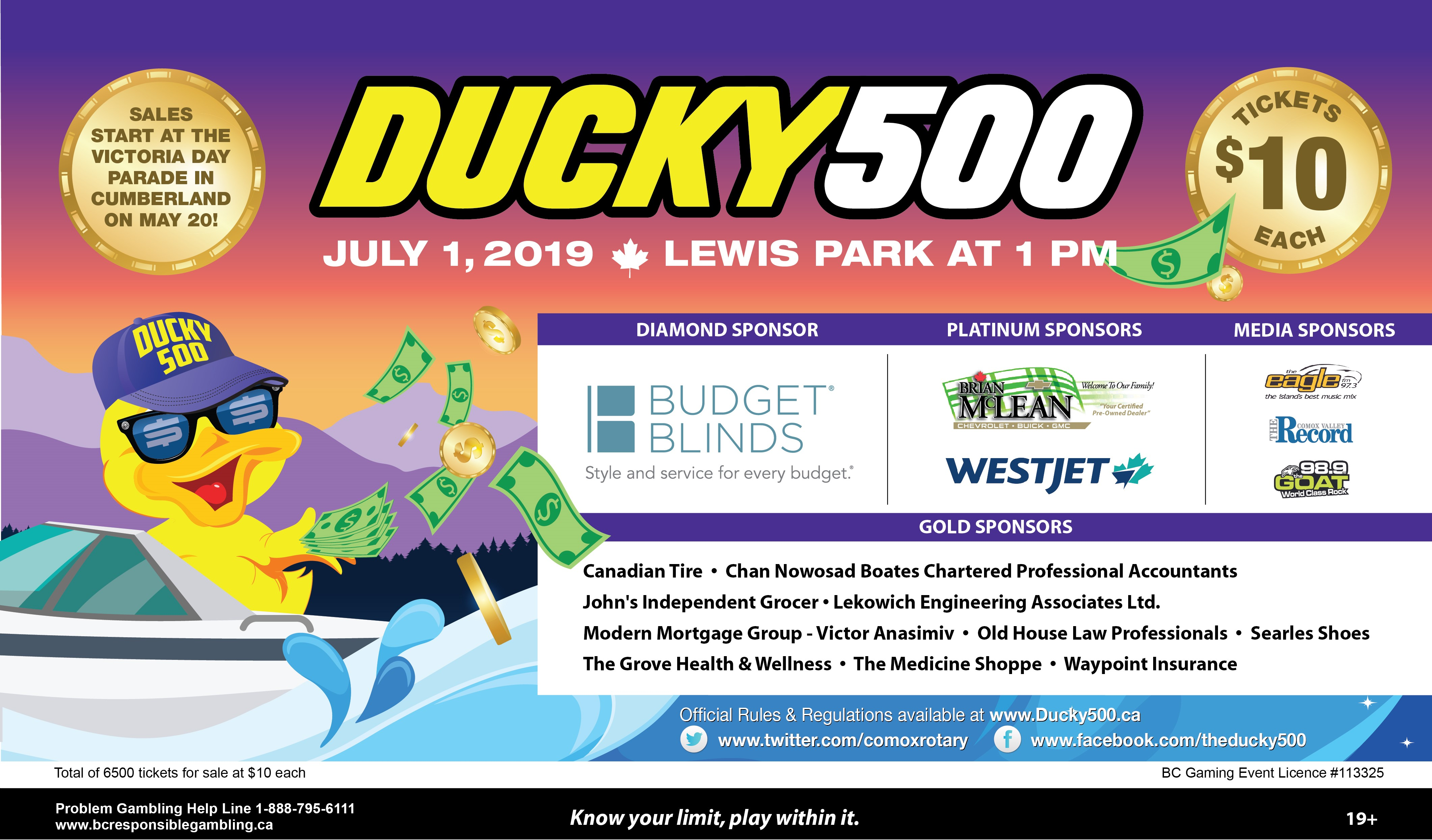 Ducky 500 Details
