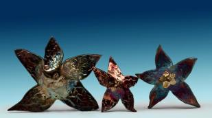 Pottery starfish by Darcy Epp