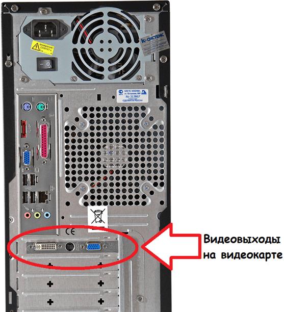 Bumalik ng system block sa mga output ng video