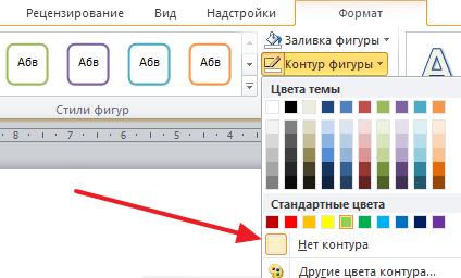 eliminați marginea din jurul textului