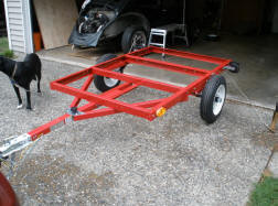 Camping Trailer Harbor Freight Trailer Frame Compact Camping Trailers