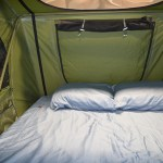 Roof Top Tent Sheet Sets from Tepui and Compact Camping Trailers sleep in luxury