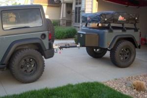 Jeep Trailer Customer Build by Bill
