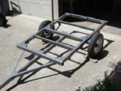 how to build a car trailer frame