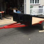 Compact Camping Trailer Platform Customer Build with Harbor Freight Frame