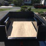Jeep Trailer DIY Fiberglass Tub Kit Plywood Floor