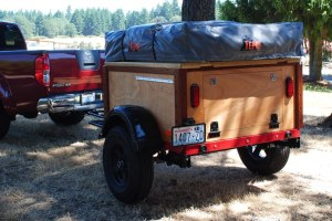 Compact Camping Trailer Explorer Box Build by Customer from Washington