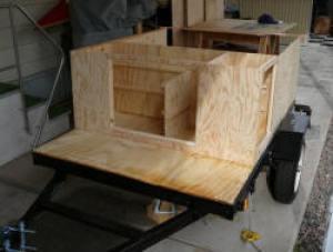 Compact Camping Trailer Explorer Box Build