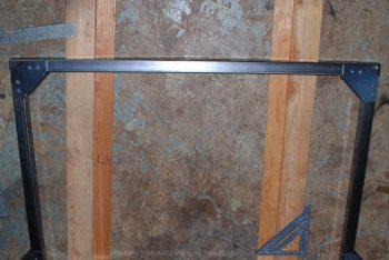 How build a no weld trailer rack