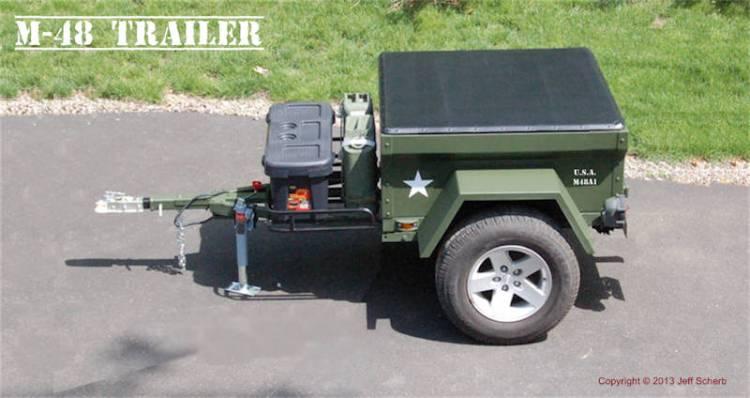 M416 DIY Trailer Kit by Dinoot Trailers