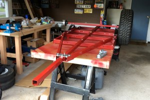 compact trailer frame harbor freight