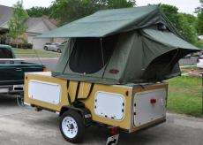Compact Camping Trailer Explorer Box by Cliff