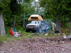 Hummer Roof Top Tent Camper