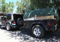 Jeep Trailer Dinoot Fiberglass Tub Kit