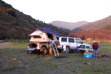 Jeep Dinoot Trailer build by customer on a California adventure