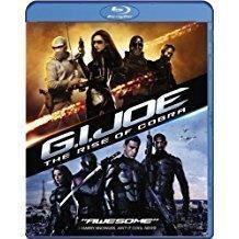G.I. Joe: The Rise of Cobra Blu-ray, DVD OM