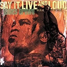 James Brown – Say It Live And Loud Live In Dallas 08.26.68 (Remastered 24 tracks)